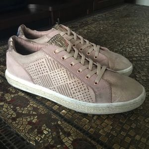 MARCO TOZZI ROSE GOLD TRAINER SNEAKERS